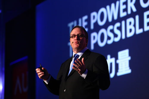 欧特克公司全球高级副总裁、亚太区总裁魏柏德